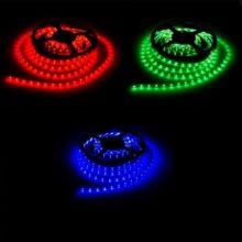 Prémium beltéri színes LED szalag 3528 60 SMD/m 5m