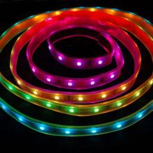 Vízálló RGB LED szalag