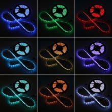 Beltéri RGB LED szalag