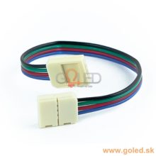 Forrasztásmentes csatlakozó RGB LED szalaghoz