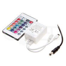 Infravöros RGB LED szalag távirányító 72W