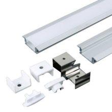 Beépíthető alumínium profil MICRO K 2m szett