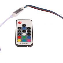 Mini RGB LED dimmer RF távirányítóval 72W