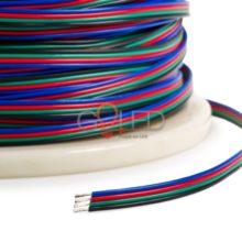 Vezeték RGB LED szalaghoz négy eres 4x0,35mm