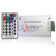 RF RGB LED szalag távirányító 144W 28 gomb