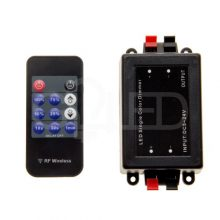 LED dimmer RF távirányítóval időzítővel 12V/24V 8A