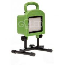 Hordozható akkumulátoros LED 20W reflektor állvánnyal