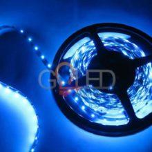 Vízálló kék LED szalag 3528 60 SMD/m 5m