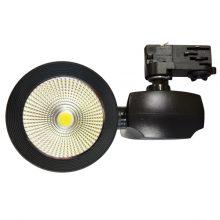Fekete beltéri LED reflektor 40W
