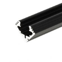 Fekete sarok alumínium profil 45 ALU 2m