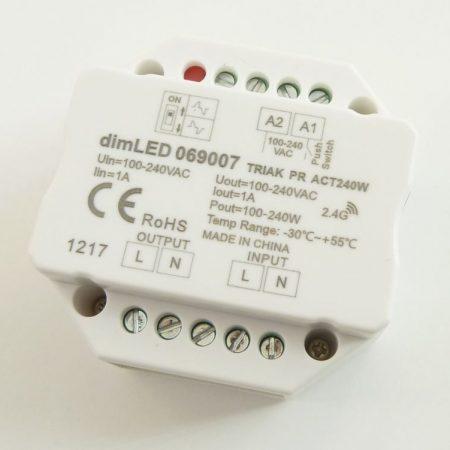 RF LED dimmer vevő