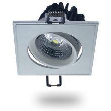 Beépíthető forgatható fehér négyszög LED lámpa 5W