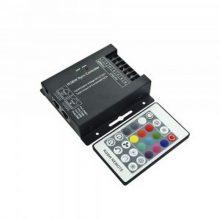RF RGB+W LED szalag távirányító 144W 24 gomb