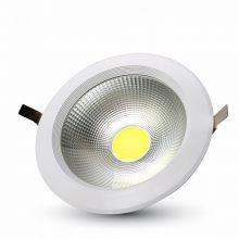 Beépíthető fehér kör LED lámpa