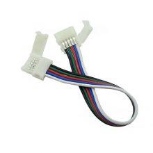 Forrasztásmentes csatlakozó RGB+W LED szalaghoz