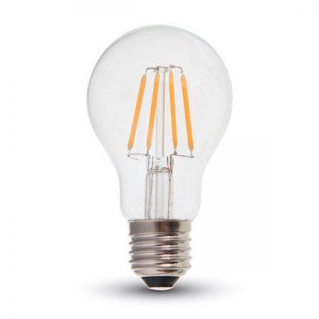 Professzionális E27 LED filament izzó A60 6W SAMSUNG chipek
