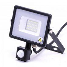 Professzionális LED reflektor 20W mozgásérzékelővel SAMSUNG chipek
