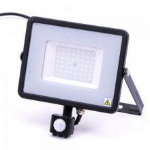 Professzionális LED reflektor 50W mozgásérzékelővel SAMSUNG chipek