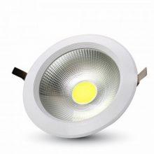 Beépíthető fehér kör LED lámpa 10W