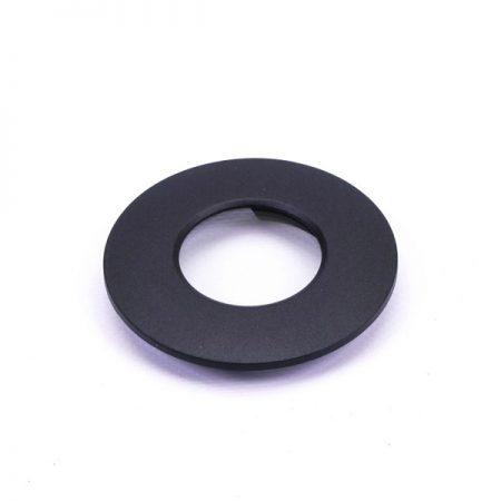 Fekete cserélhető keret beépíthető LED lámpához