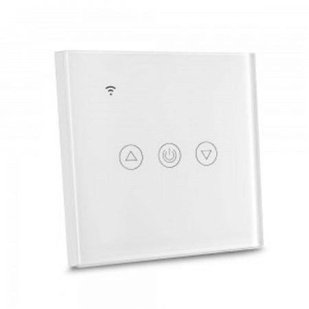 Fehér smart Wi-Fi érintős dimmer