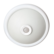 Felszín lámpa PIR mozgásérzékelővel 2db E27 LED izzóra IP20