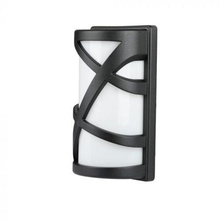 Fekete kültéri fali LED lámpa E27 IP54