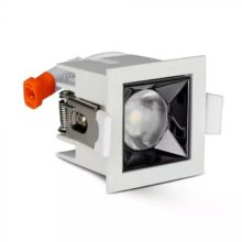 Beépíthető fehér négyszög LED lámpa 4W 12° SAMSUNG chipek CRI90