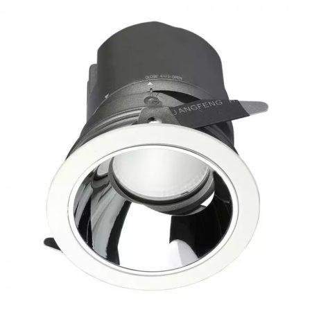 Beépíthető kör LED lámpa 10W 0-27° CRI95